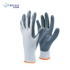 丁腈耐油耐割防滑靈活挂膠塗膠手套