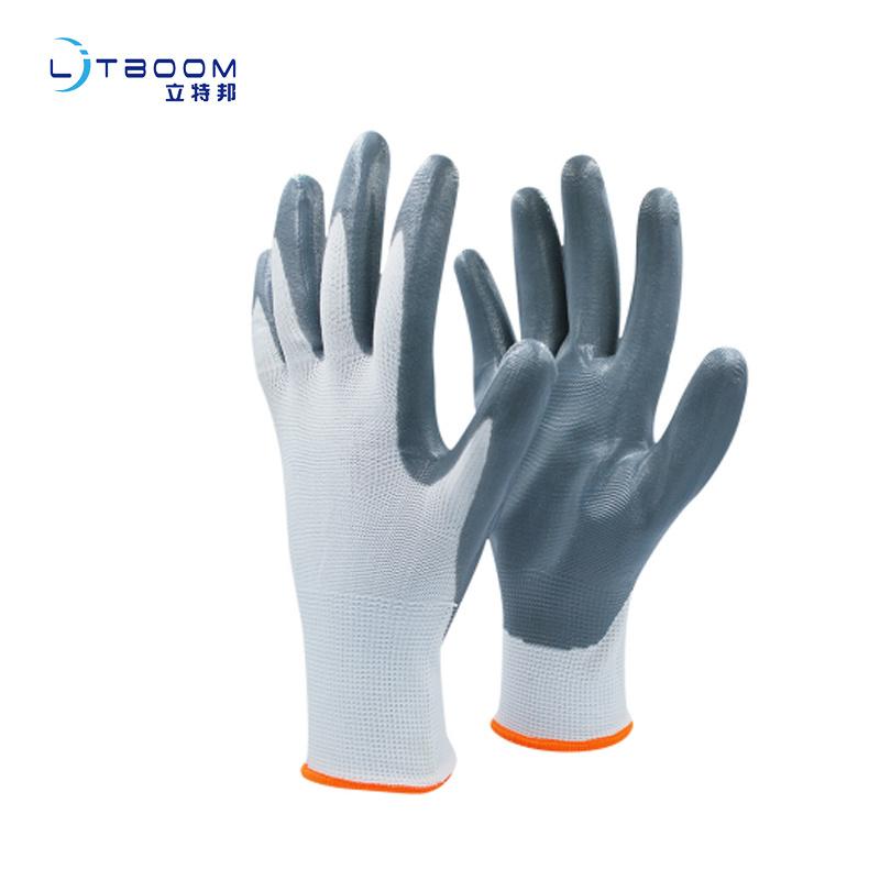 丁腈耐油耐割防滑靈活掛膠塗膠手套