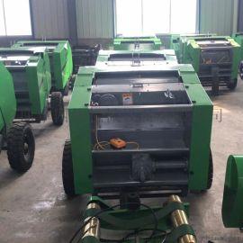 牵引式玉米秸秆捡拾打捆机  自动捡拾秸秆打捆机