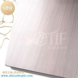 重庆装饰工程不锈钢古铜板 拉丝发黑青古铜加工厂家