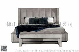 简约实木家具双人床欧式韩式公主美式床
