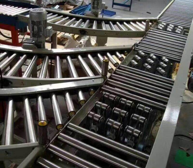 佛山优质动力滚筒线转弯机自动输送设备厂家直销