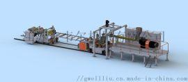 ABS复合洁具板/冰箱板挤出生产线