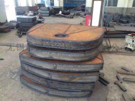 特厚板来料切割Q235B钢板火焰切割中厚板零割