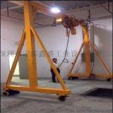無軌電動龍門架 電機驅動行走 門式單樑起重