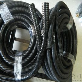 银川供应双开口黑色尼龙阻燃软管 AD18.7规格