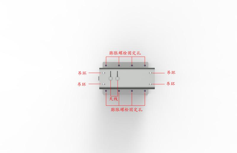 厂家定制55寸双屏立式防尘防水触摸 户外**