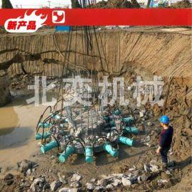 工厂破桩头设备 桩头截桩机 圆柱破桩器 方桩截桩机