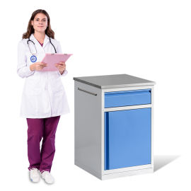 塑钢一体床头柜 SKS005-101床头柜
