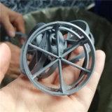 燒鹼吸收塔CPVC扁環填料氯化聚氯乙烯QH-1扁環
