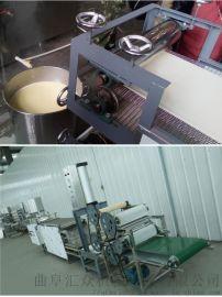 千张机豆皮机 手工豆腐皮机 利之健食品 牛排豆皮机