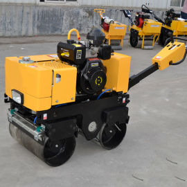 手扶式双轮压路机 手扶式单轮压路机制造商