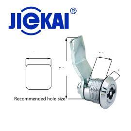 JK603 不锈钢锁   配电柜门锁 三角圆柱锁
