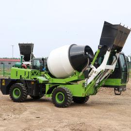 大容量搅拌运输攪拌車 混凝土上料车