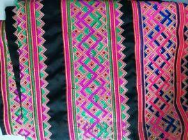 苗族传统工艺电脑刺绣