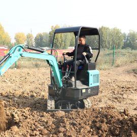 农用挖树挖坑小型挖掘机 捷克 家用微型履带小挖机