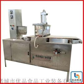 商用印花单饼机、节能压饼机、优品新型卷饼机