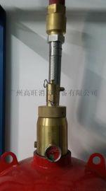 深圳七氟丙烷设备掉压需要维修/深圳七氟丙烷充气加压