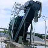 辽宁集装箱干灰中转设备 集装箱卸灰机 粉煤灰卸车机