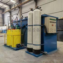 绍兴市养猪场污水处理设备 气浮过滤一体机 竹源定制