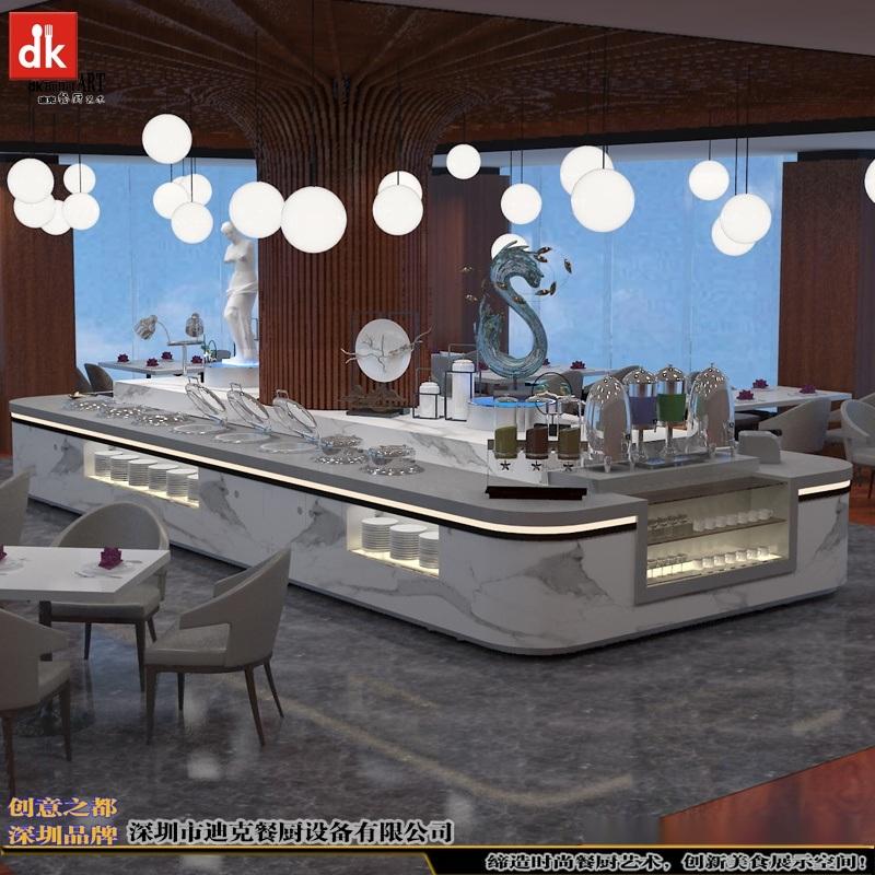 深圳迪克移动布菲台 酒店自助取餐台厂家直销 餐饮家具行业**