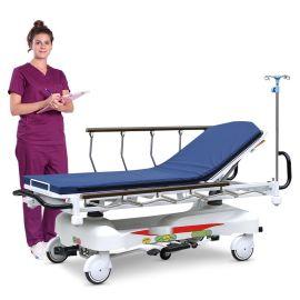 不锈钢手术推车 SKB041-3手术推车转运车