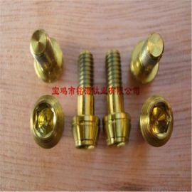 宝鸡源头钛厂家直供M8螺丝  钛标准件 纯钛螺丝