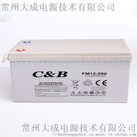 12V200AH铅酸胶体太阳能路灯房车储能蓄电池