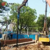 挖机引孔钻机 房建桩钻孔打桩引孔设备