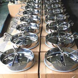 不锈钢人孔是安装做储罐上的安全应急通气装置