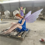 廣西玻璃鋼天使人物雕塑 自由女神雕像
