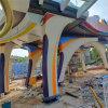 天桥包柱铝单板 扶梯包柱铝单板 圆形包柱铝单板