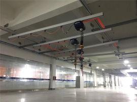 厂家定做铝合金轨道,铝制KBK起重机,铝合金单轨吊