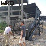 電動砂石分選機 滾筒式篩沙機 沙場過篩機設備