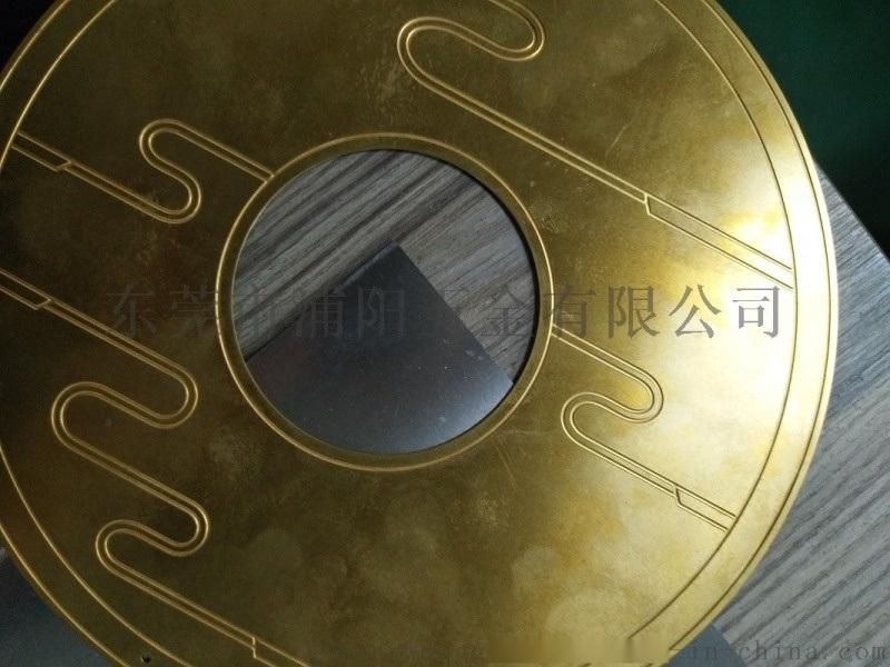深圳宝安蚀刻厂 铜工艺品蚀刻加工 五金腐蚀厂