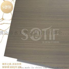 黑龙江不锈钢厂家手工拉丝发黑青古铜板