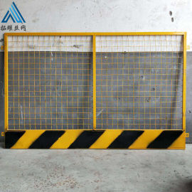 钢筋工地隔离网/黄色安全防护围栏