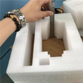 epe珍珠棉激光切割机包装材料内衬内托激光雕刻机