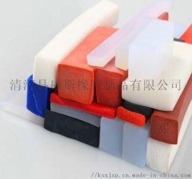 三元乙丙方形发泡密封条 彩色橡胶海绵发泡胶条