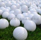 高爾夫球清倉庫存有球