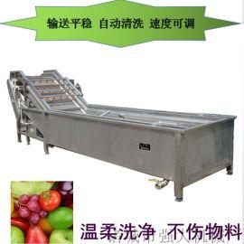 油菜香菇气泡清洗机 带刺黄瓜气泡清洗机