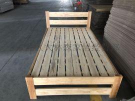 成都实木高低床定做免费送货安装