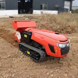 厂家直供 多功能履带旋耕机 履带开沟微耕机