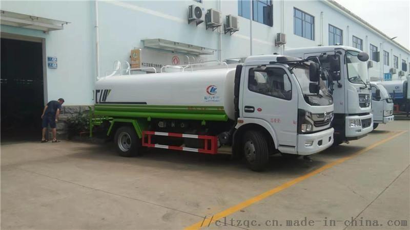 国六东风8-10吨洒水车哪里有?