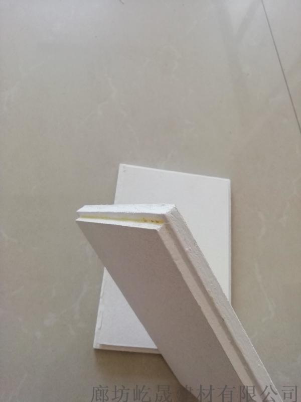 阻燃防水岩棉复合吸音板 外墙保温材料