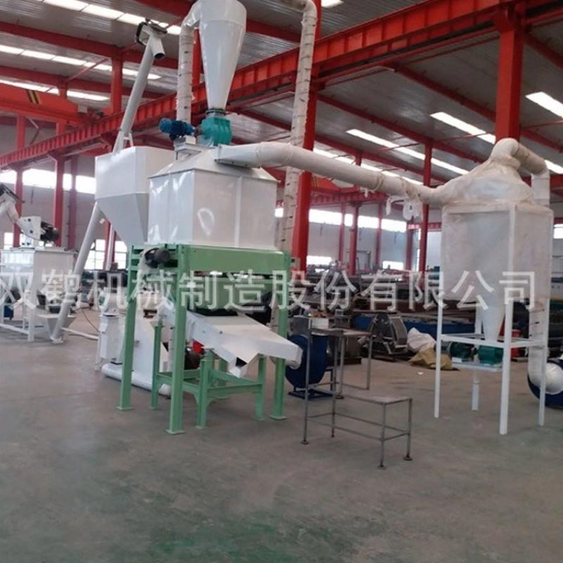 成套畜牧养殖饲料颗粒机组 鹅饲料HKJ250生产线