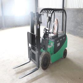 全自动电动叉车 2吨座驾式电动升降车 小型液压搬运车