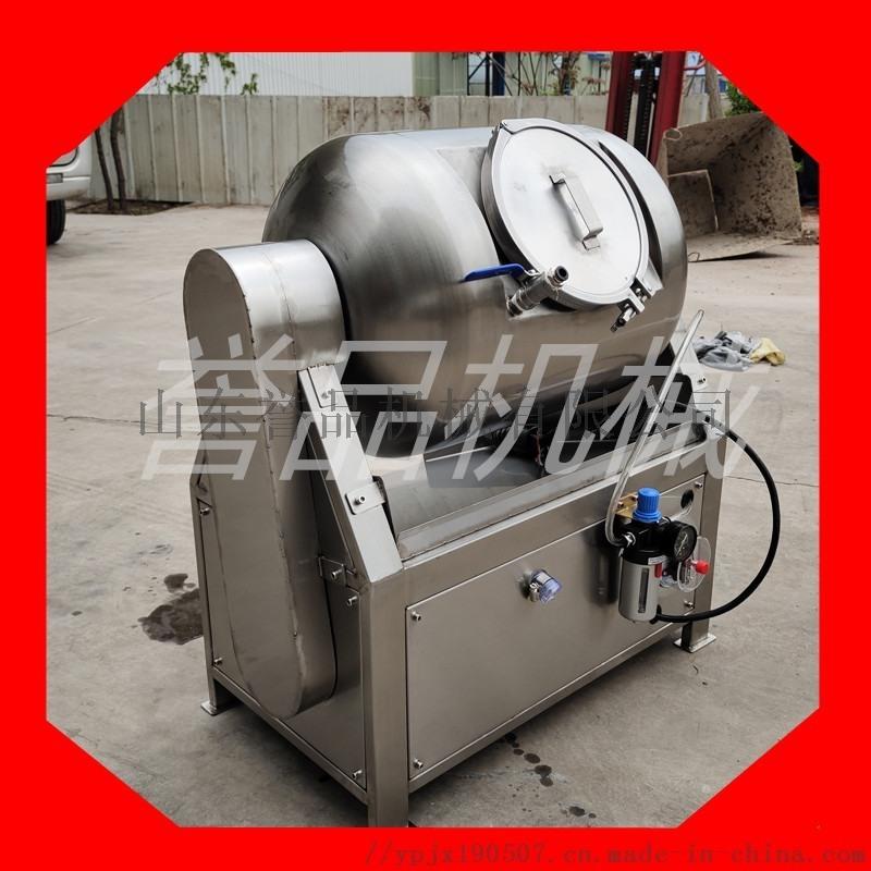 厂家  1800型液压真空滚揉机_鸡胸肉猪肉腊肉真空腌制滚揉机多少钱