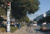 陶瓷灯柱厂家 大型景观路边定做瓷灯柱  陶瓷灯柱