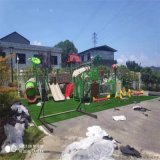 湖南省幼儿园环保组合滑梯定制 大方时尚且不易脱落